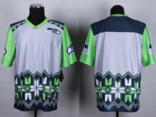 Nike Seattle Seahawks Blank 2015 Noble Fashion Elite Jersey