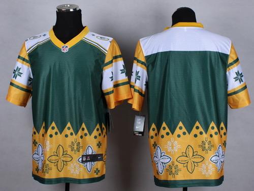 Nike Green Bay Packers Blank 2015 Noble Fashion Elite Jersey