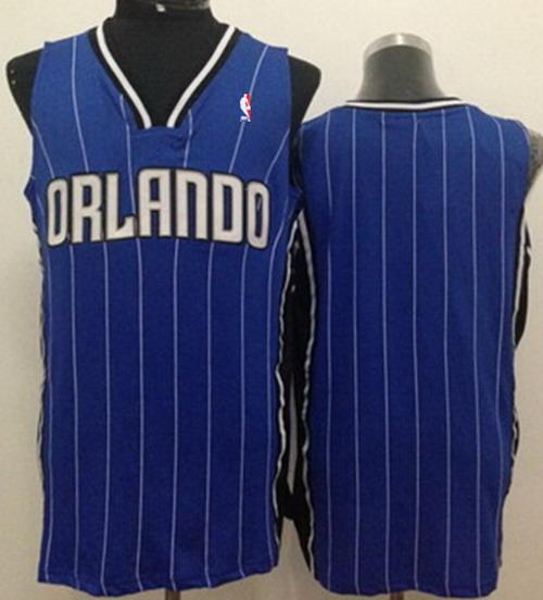 Orlando Magic Blank Blue Swingman Jersey