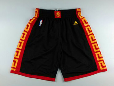 Golden State Warriors 2015 Chinese Black Fashion Short