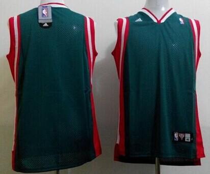 Milwaukee Bucks Blank Green Swingman Jersey