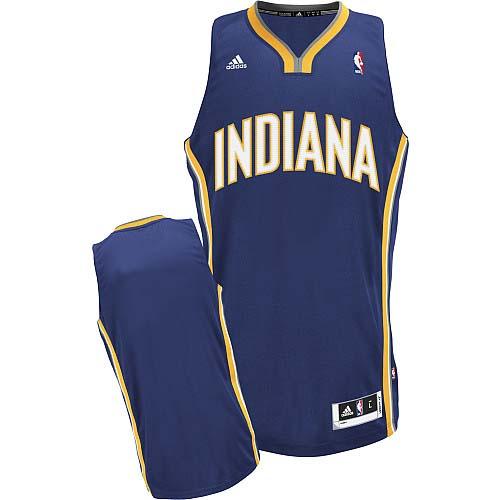 Indiana Pacers Blank Navy Blue Swingman Jersey