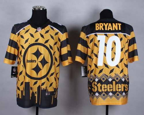 Nike Pittsburgh Steelers #10 Martavis Bryant 2015 Noble Fashion Elite Jersey