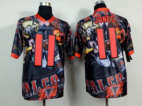 Nike Atlanta Falcons #11 Julio Jones 2014 Fanatic Fashion Elite Jersey