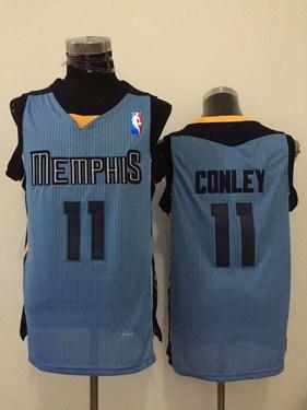 Memphis Grizzlies #11 Mike Conley Light Blue Swingman Jersey