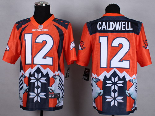 Nike Denver Broncos #12 Andre Caldwell 2015 Noble Fashion Elite Jersey