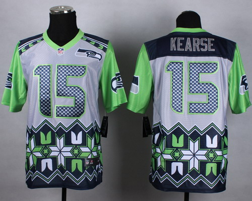 Nike Seattle Seahawks #15 Jermaine Kearse 2015 Noble Fashion Elite Jersey