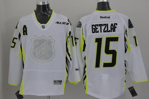 Anaheim Ducks #15 Ryan Getzlaf 2015 All-Stars White Jersey