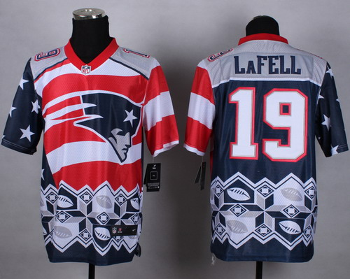 Nike New England Patriots #19 Brandon LaFell 2015 Noble Fashion Elite Jersey