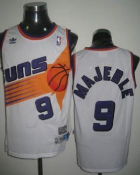 Phoenix Suns #9 Dan Majerle White Swingman Throwback Jersey