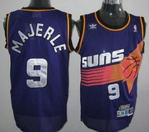 Phoenix Suns #9 Dan Majerle Purple Swingman Throwback Jersey