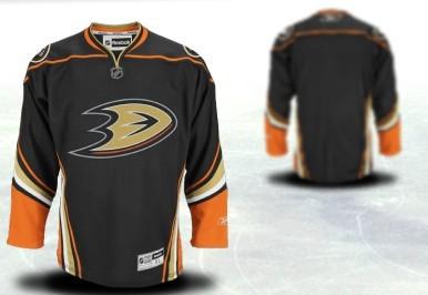 Anaheim Ducks Mens Customized Black Third Jersey