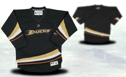 Anaheim Ducks Youths Customized Black Jersey