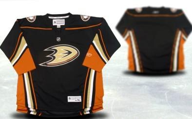 Anaheim Ducks Youths Customized Black Third Jersey