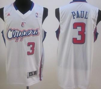 Los Angeles Clippers #3 Chris Paul White Swingman Jersey