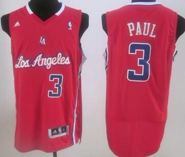 Los Angeles Clippers #3 Chris Paul Red Swingman Jersey