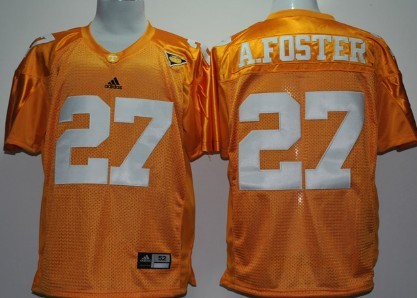 Tennessee Volunteers #27 Arian Foster Orange Jersey