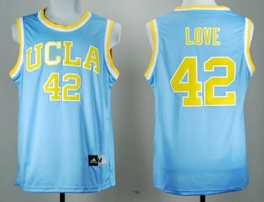 UCLA Bruins #42 Kevin Love Blue Jersey