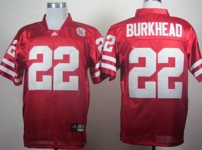 Nebraska Cornhuskers #22 Rex Burkhead Red Jersey