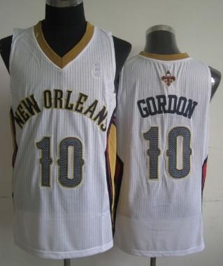 New Orleans Pelicans #10 Eric Gordon White Swingman Jersey