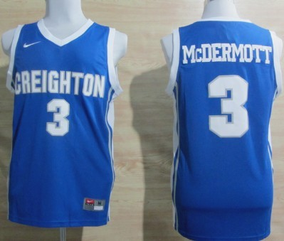 Creighton Bluejays #3 Doug McDermott Blue Jersey