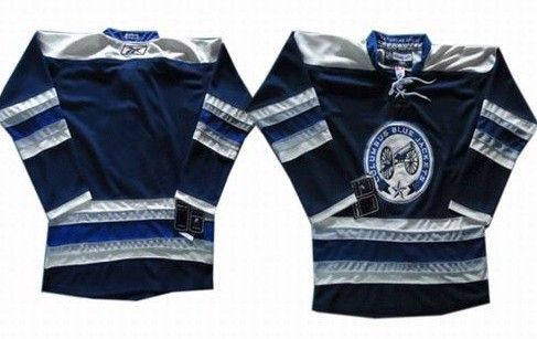 Columbus Blue Jackets Blank Blue Third Jersey