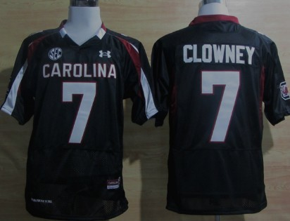 South Carolina Gamecocks #7 Jadeveon Clowney Black Jersey