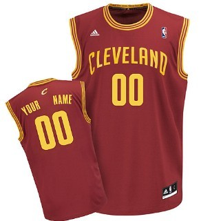 Kids Cleveland Cavaliers Customized Red Jersey