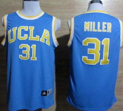 UCLA Bruins #31 Reggie Miller Light Blue Jersey