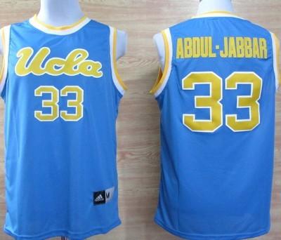 UCLA Bruins #33 Kareem Abdul-Jabbar Light Blue Jersey