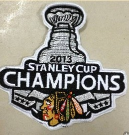 Chicago Blackhawks 2013 Stanley Cup Champion Patch