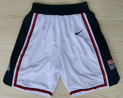 1992 Team USA Olympics White Short