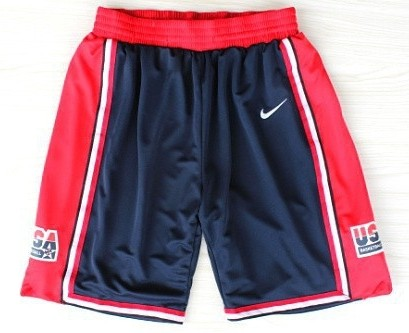 1992 Team USA Olympics Navy Blue Short