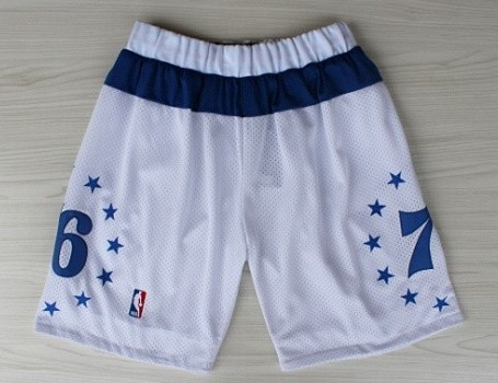 Philadelphia 76ers White All-Star Short