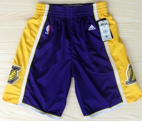 Los Angeles Lakers Purple Short