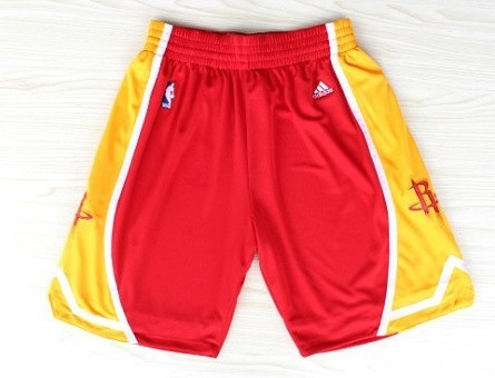Houston Rockets Red With Gold Short
