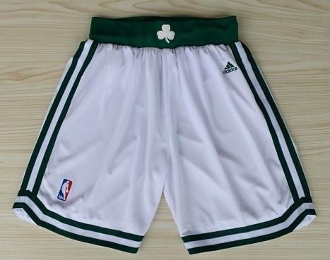 Boston Celtics White Short