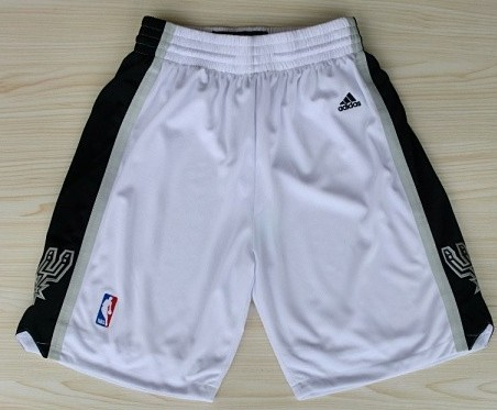 San Antonio Spurs White Short