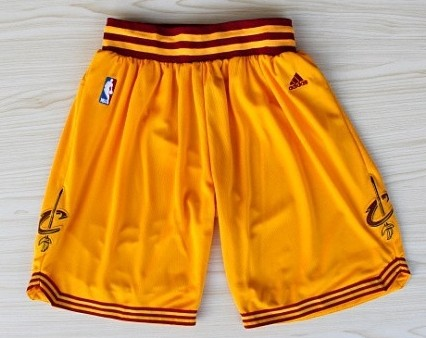 Cleveland Cavaliers Yellow Short