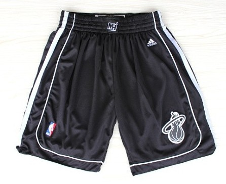 Miami Heat All Black Short
