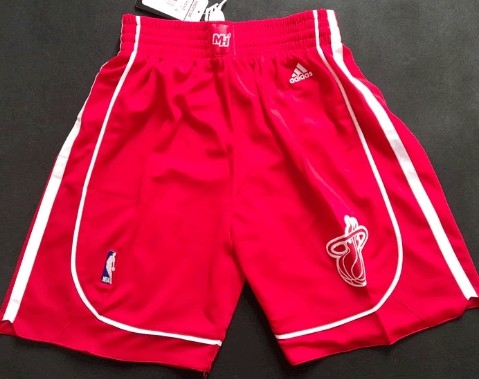 Miami Heat All Red Short