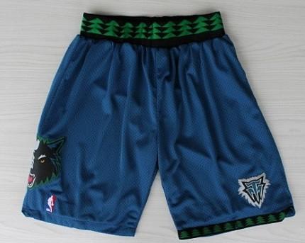 Minnesota Timberwolves Blue Swingman Short