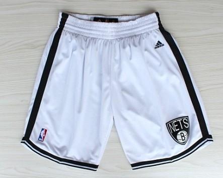 Brooklyn Nets White Short