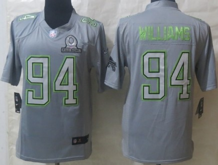 Nike Buffalo Bills #94 Mario Williams 2014 Pro Bowl Gray Jersey