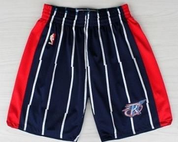 Houston Rockets Blue Throwback Short