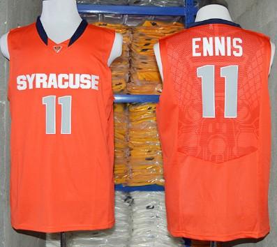Syracuse Orange #11 Tyler Ennis 2014 Orange Jersey