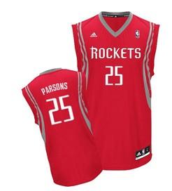 Houston Rockets #25 Chandler Parsons Red Swingman Jersey