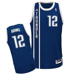 Oklahoma City Thunder #12 Steven Adams 2013 Navy Blue Swingman Jersey