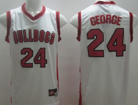 Fresno State #24 Paul George White Jersey
