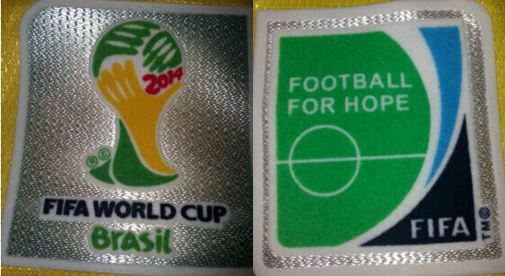 2014 Wolrd Cup Patch